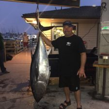 Bluefin Tuna weighing 127.5 lbs
